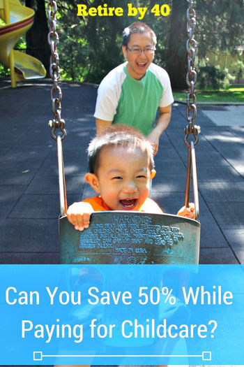 Can you save 50% while paying for childcare?