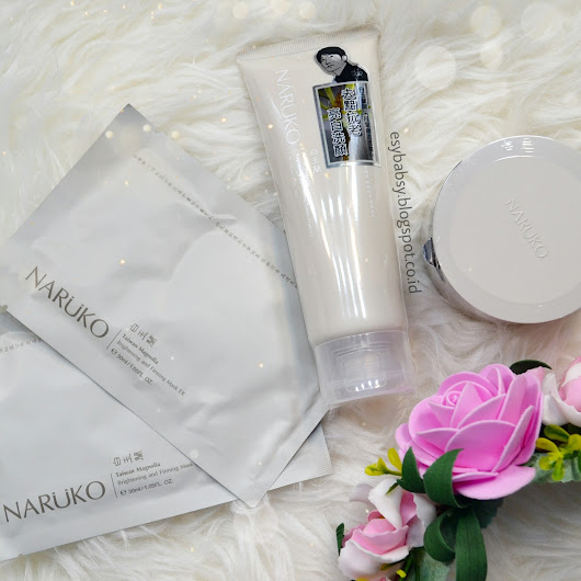 Review: Naruko Taiwan Magnolia Brightening and Firming Skin Care (Mask EX, Night Gelly EX, Cream Wash EX)