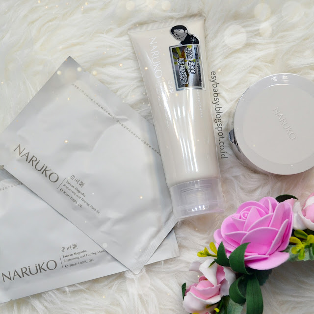 naruko-taiwan-magnolia-brightening-and-firming-mask-ex-night-gelly-ex-cream-wash-ex-review-esybabsy
