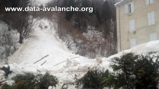Avalanche Haute-Bigorre, secteur Barèges, Couloir du Theil - Photo 1