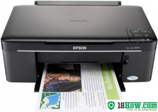 How to Reset Epson SX125 flashing lights error