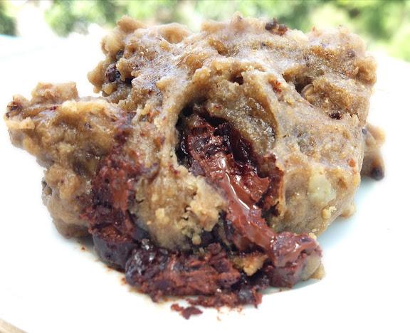Ooey Gooey Chocolate Chunk Walnut Cookies