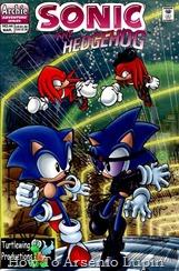 Actualización 04/01/2019: Numero 44 por Tonyv444 para The Tails Archive. Negro, azul y rojo por todas partes: Un día, Anti Sonic y el nuevo personaje Anti Knuckles intentan robar la esmeralda maestra de Knuckles. Finalmente se pelean con Sonic, Tails, Sally y Knuckles. Pero luego todos se unen para detener al Dr. Robotnik. Al final, la esmeralda maestra es devuelta a su legítimo propietario y Anti Knuckles se convierte en un buen tipo.