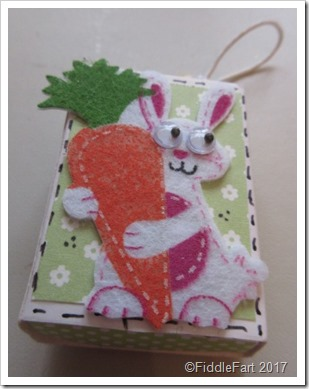 Easter Bunny Matchbox Favour