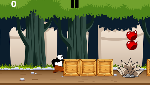 Code Triche Panda Forest Run APK MOD screenshots 1