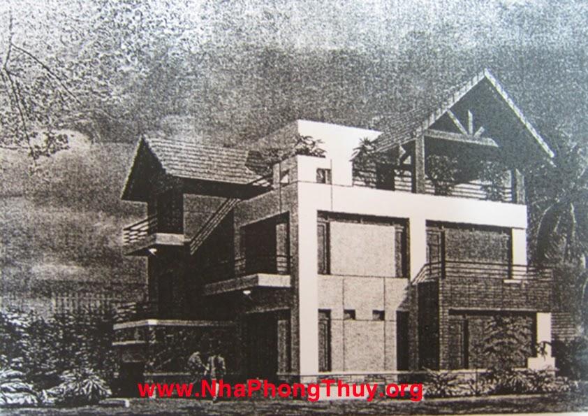 Phối cảnh ngôi nhà theo thiết kế của công ty