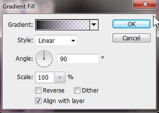 Gradient untuk menambah gradasi warna foto