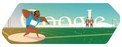 Google Doodle Kugelstoßen