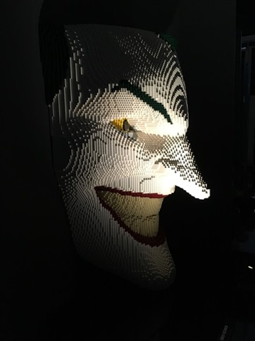 The Art of the Brick - The Joker