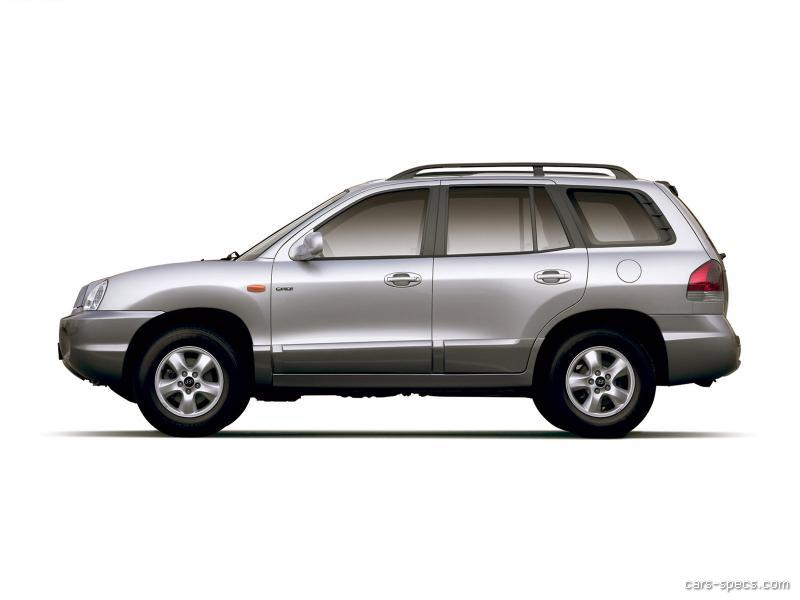 2002 hyundai santa fe suv specifications pictures prices. Black Bedroom Furniture Sets. Home Design Ideas