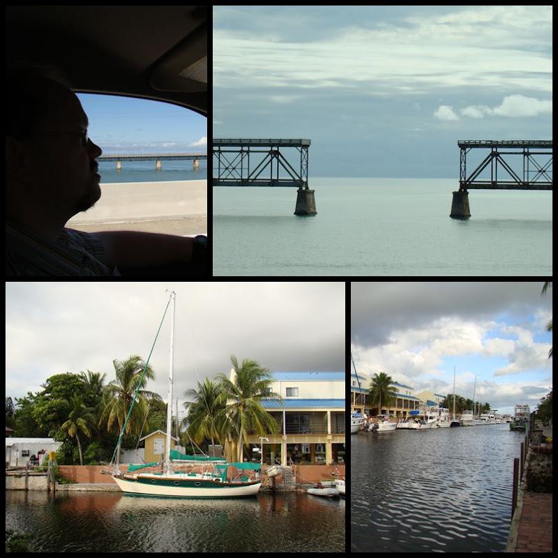 Die Fahrt von Key West nach Key Largo