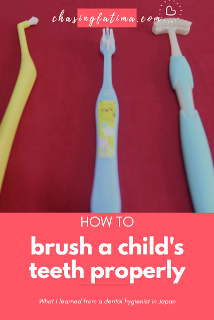 How to brush a child's teeth properly