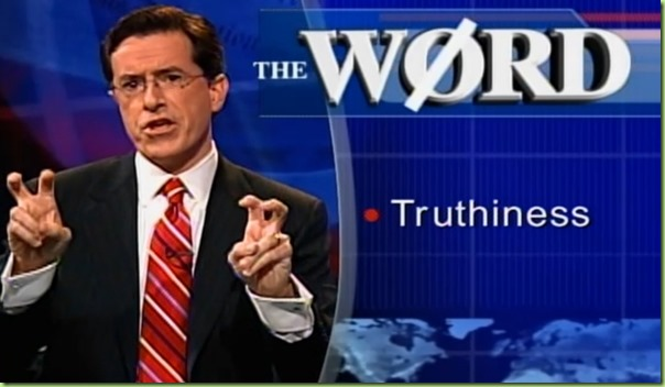 truthiness colbert