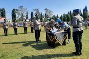 Kapolres Lampung Utara Pimpin Upacara Serah Terima Pelatikan dan Pengukuhan Pejabat Polres Lampung Utara