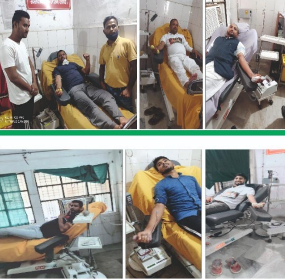 जन अधिकार पार्टी 6ठां स्थापना दिवस पर रक्तदान किया और सरकार पर लगाए गंभीर आरोप