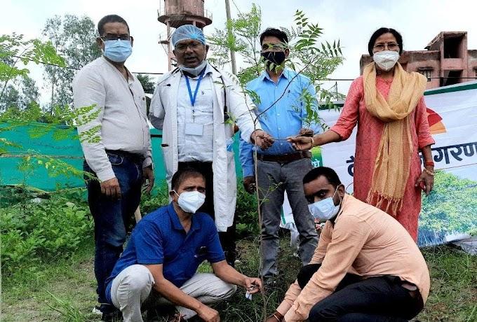 मानव जीवन की सुरक्षा हेतु पौधरोपण आवश्यकः डा. एनके सिंह #Uttar Pradesh News