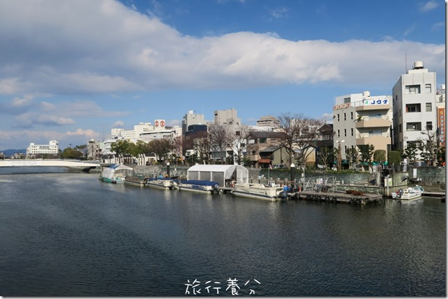 四國德島 葫蘆島周遊船 新町川水際公園 (1)