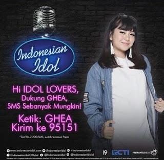 biodata ghea indrawari kontestan indonesian idol 2018 singkawang