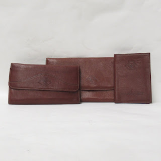 Ghurka Leather Wallet Trio