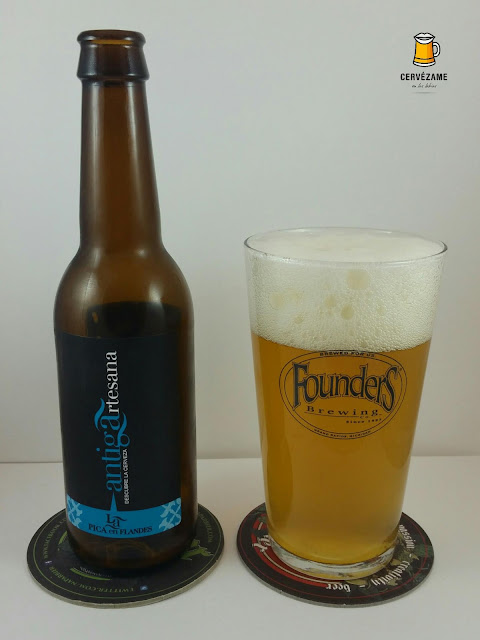cerveza Antiga Artesana La Pica en Flandes cervezame