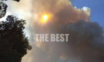 Αχαΐα : Έκλεισε και η γέφυρα Ρίου - Αντιρρίου - Τεράστιο το μέτωπο της πυρκαγιάς - Εκκενώθηκαν τα χωριά Ζήρια, Λαμπίρι, Καμάρες