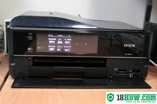 How to Reset Epson EP-904A printing device – Reset flashing lights problem