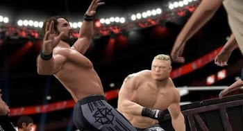 Playing wwe 2k18