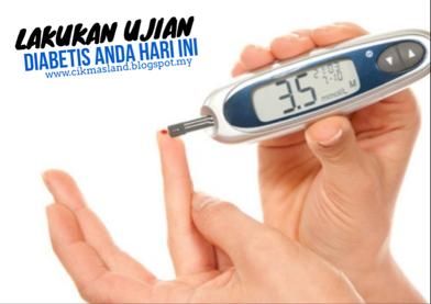 ujian diabetis