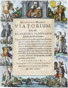 From Michael Maier Viatorium Oppenheim 1618, Alchemical And Hermetic Emblems 2