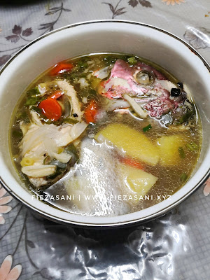 sup ikan merah, resipi sup ikan merah,resepi ikan merah,resepi ikan merah sup,resepi ikan merah azie kitchen