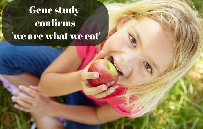 Gene study confirms 'we are what we eat'
