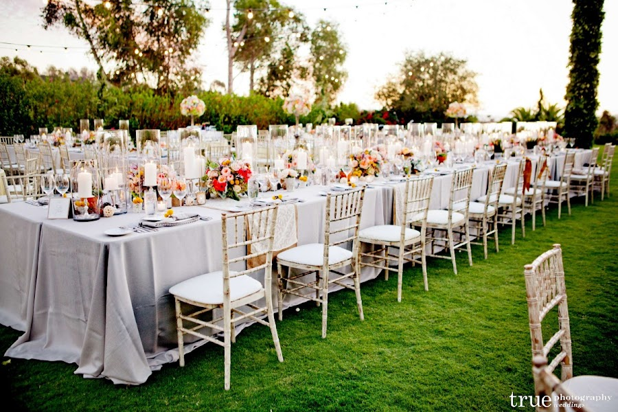 Scintillating Family Style Wedding Reception Table Settings Pictures ...