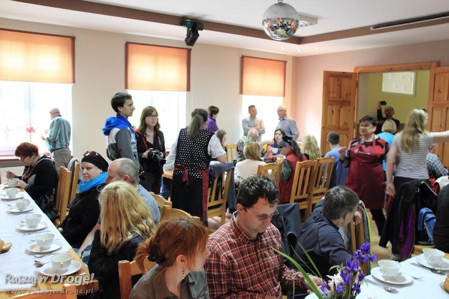 Stara Kościelnica - obiad na wypasie