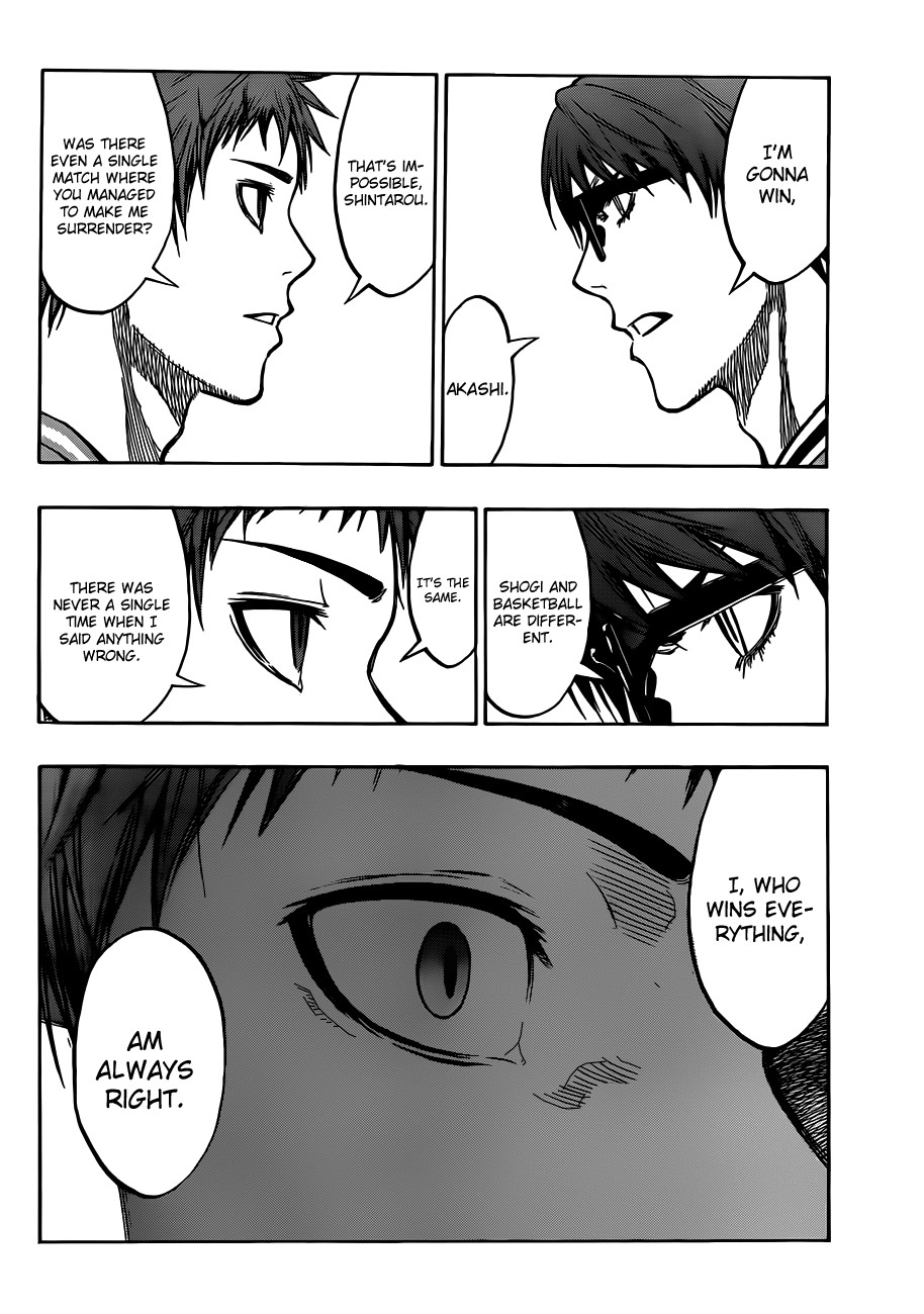 Kuroko no Basket Manga Chapter 175 - Image 14