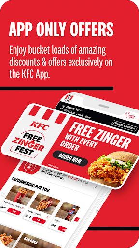 KFC Online Order and Food Delivery ss2
