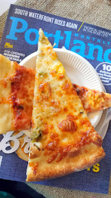Portland Monthly Country Brunch 2015, surprise pizza party thanks to Sizzle Pie