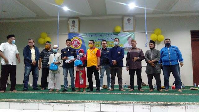 Bulan Bakti Karang Taruna ke-60, Karang Taruna Kelurahan Jakasampurna Gelar Santunan Anak Yatim