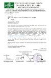 Intruksi Pembentukan Koordinator NU Peduli Di Ranting Se-MWC NU Ngronggot