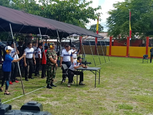 Meriahkan HUT Korps Brimob, Ratusan Petembak Bersaing di Kalteng