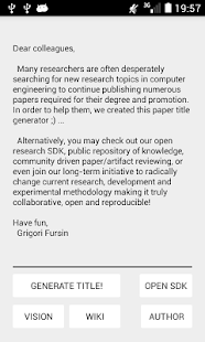 Research paper title generator- screenshot thumbnail