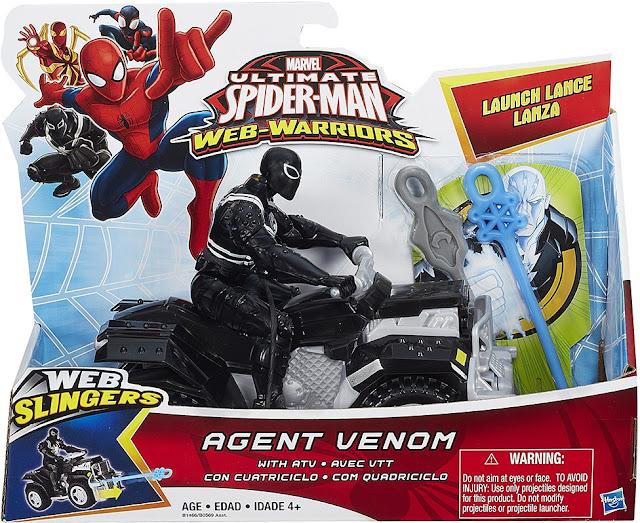 Sản phẩm mô hình Agent Venom cùng Siêu xe  ATV