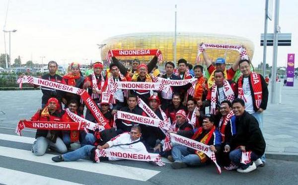 Suporter Indonesia di EURO 2012
