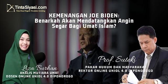 Kemenangan Joe Biden: Benarkah Akan Mendatangkan Angin Segar Bagi Umat Islam?