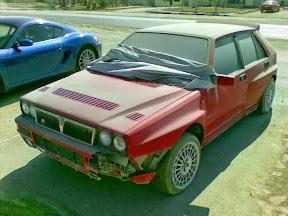 Abandoned Lancia Integrale