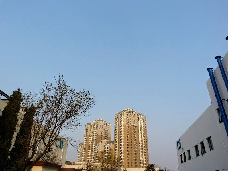 le ciel est bleu à Pékin