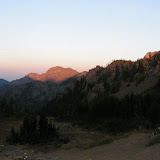 Alpenglow at Marmot Pass