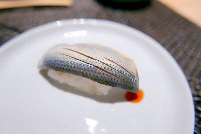 Kohada at Nodoguro Hardcore Sushi Omakase 1/31/2016