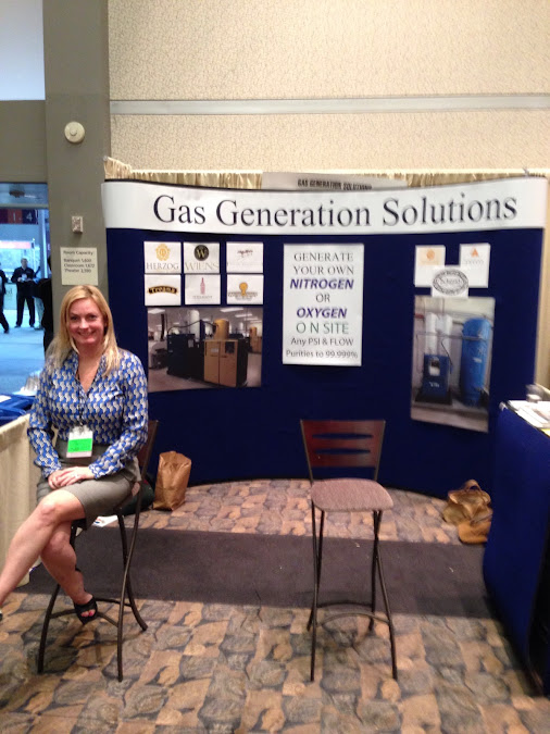 Gas generation solutions promoting our nitrogen gas generators at the unified…