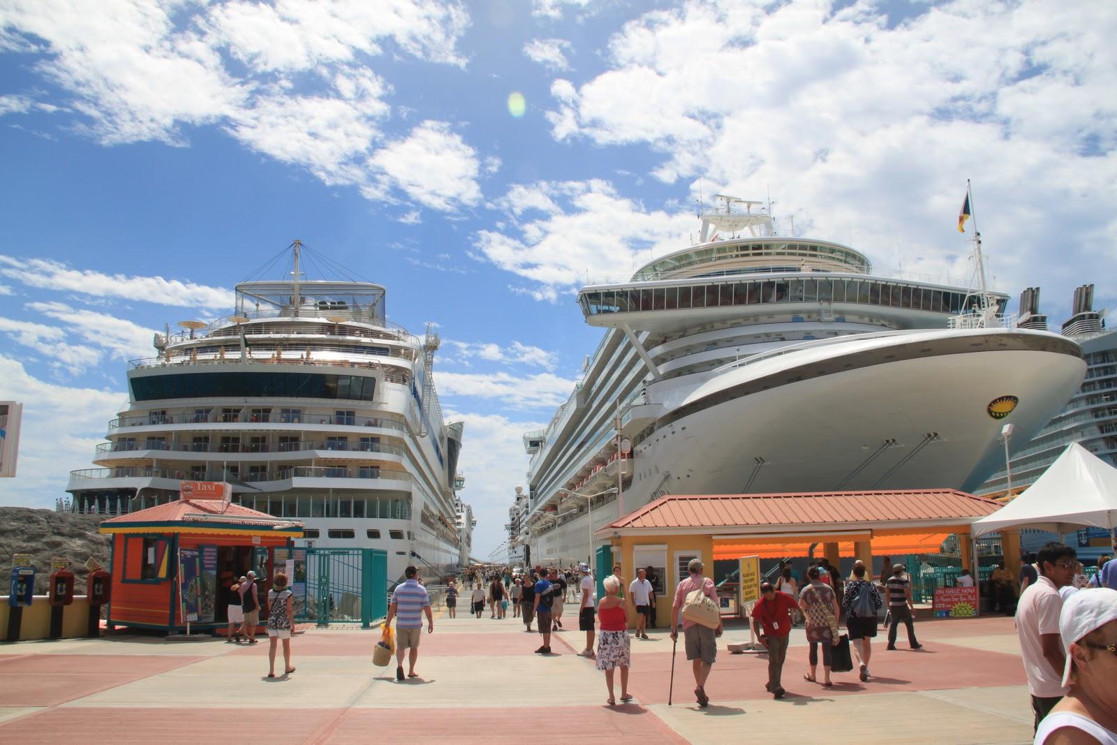 Uncategorized Travelwithstuart Page - Port or starboard side of cruise ship