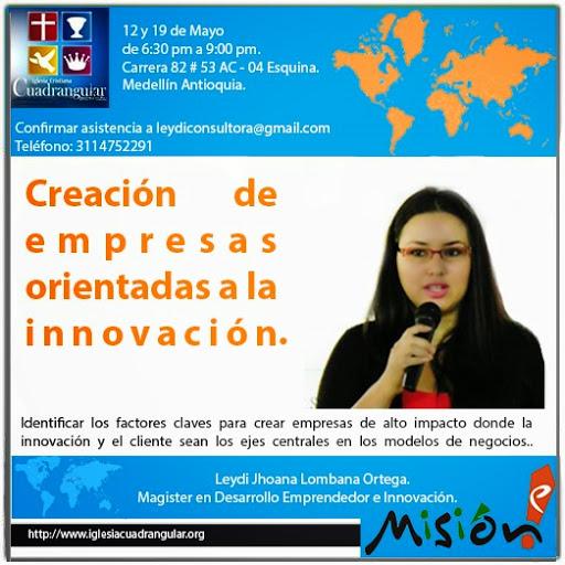 Conferencia Taller: Claves para Crear Empresas de Alto Impacto Orientadas a la Innovación